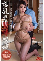 爆乳人妻の桑田みのりが食い込む麻縄に母乳を噴出させてイキ狂う