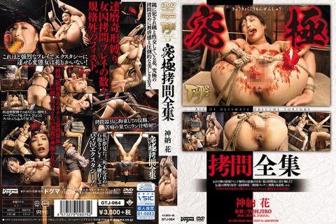 神納花が縄に犯され縄と性交し拷問責めで美しきエロスを魅せる