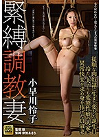 人妻の小早川怜子は緊縛されて調教されることで異常な快楽を得る