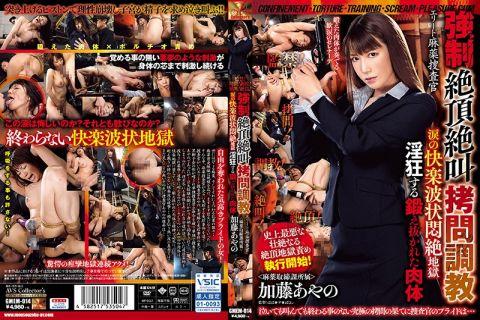 女捜査官の加藤あやのが拘束されて終わらない快楽地獄に泣き叫ぶ