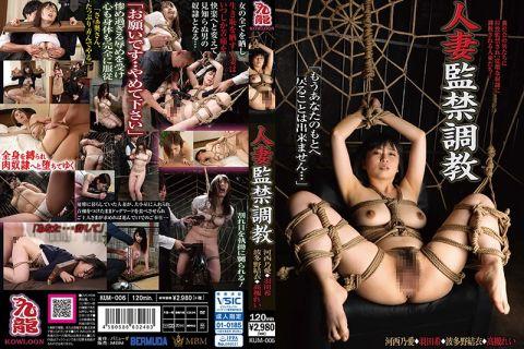 美人妻が全身を縛られ惨めすぎる辱めを受け肉奴隷へと堕ちてゆく