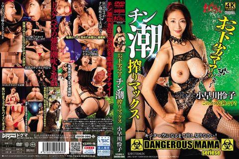 小早川怜子がスタイルの良い肉体で勃起を誘発し手コキで男潮噴射