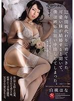 白桃はなは結婚式に純白のウエディングドレスを兄の精子で汚される